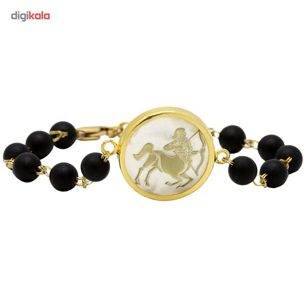 دستبند طلا 18 عیار ماهک مدل MB0124 - مایا ماهک