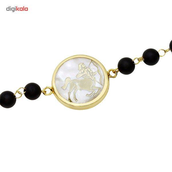 دستبند طلا 18 عیار ماهک مدل MB0124 - مایا ماهک -  - 4