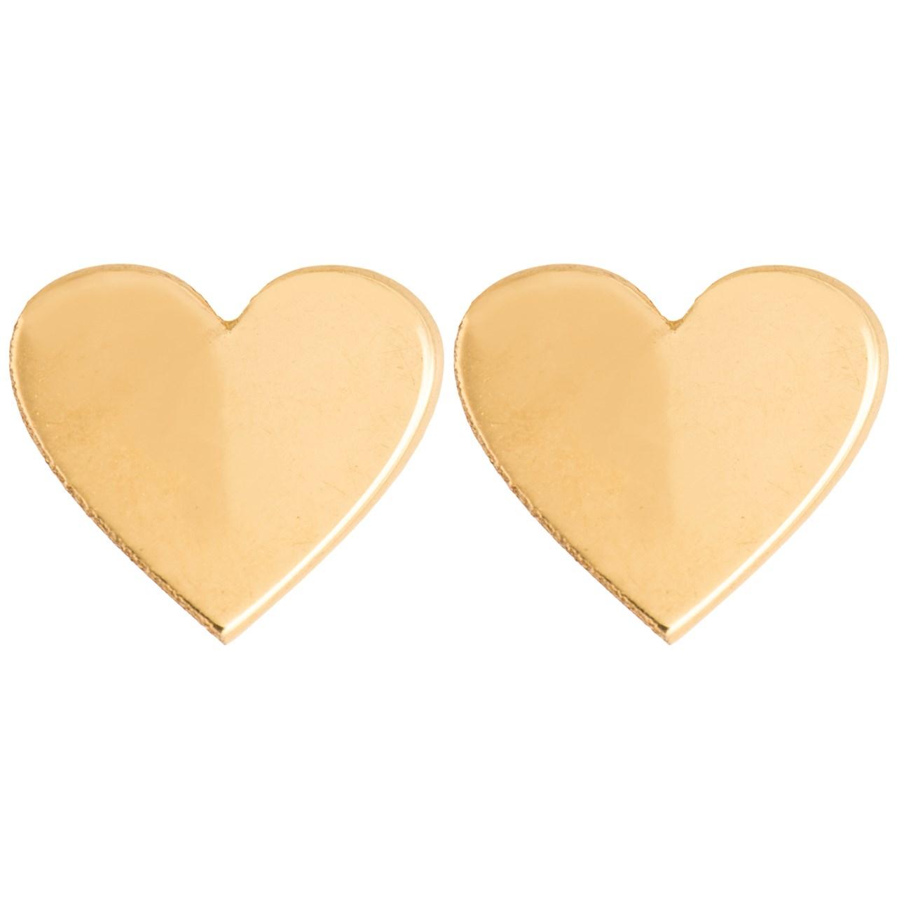 قیمت گوشواره طلا 18 عیار رزا مدل EG11
