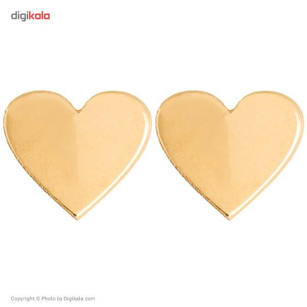 گوشواره طلا 18 عیار رزا مدل EG11