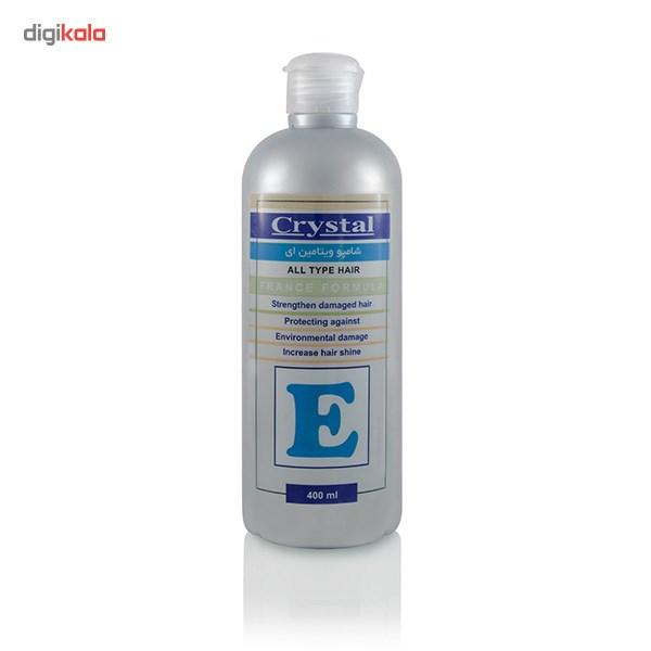 شامپو کریستال مدل Vitamin E حجم 400 میلی لیتر