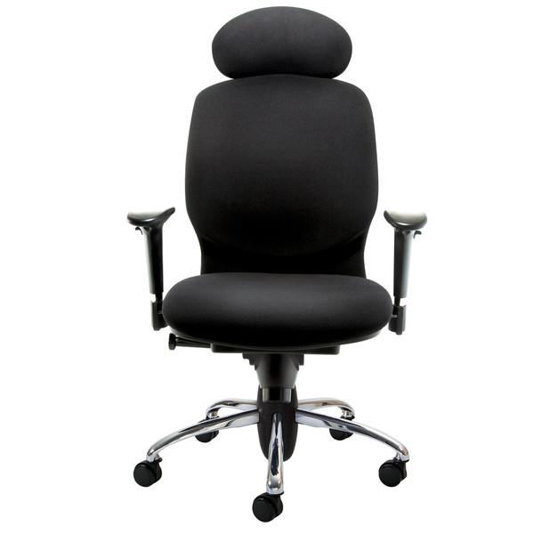 صندلی اداری نیلپر مدل SK730v پارچه ای