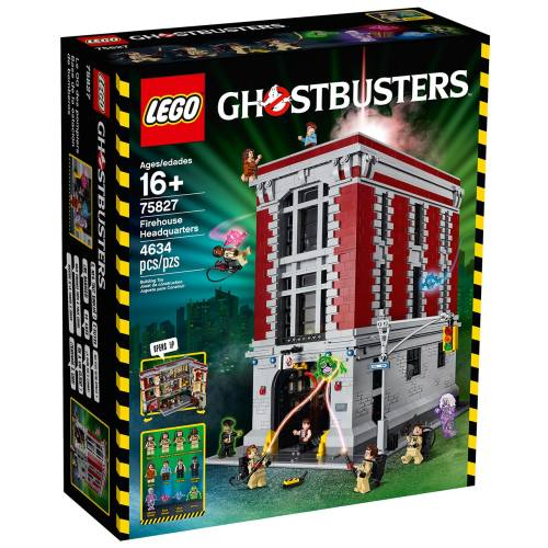 لگو سری Ghost Busters مدل Firehouse Headquarters 75827