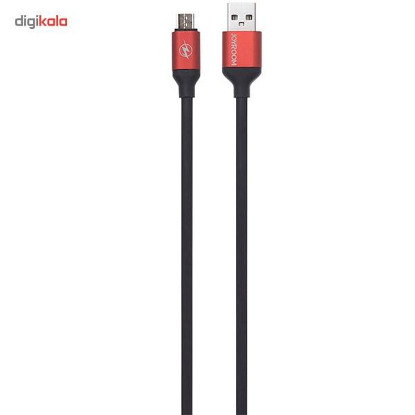کابل تبدیل USB به microUSB جی روم مدل JR-S318 به طول 1.5 متر main 1 1
