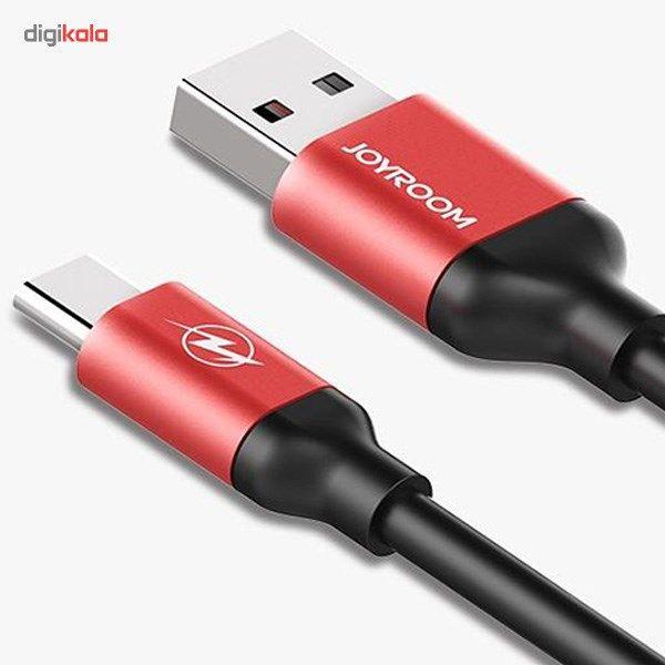 کابل تبدیل USB به microUSB جی روم مدل JR-S318 به طول 1.5 متر main 1 3