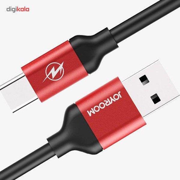 کابل تبدیل USB به microUSB جی روم مدل JR-S318 به طول 1.5 متر main 1 4