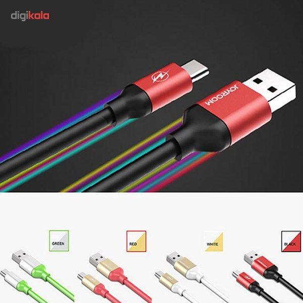کابل تبدیل USB به microUSB جی روم مدل JR-S318 به طول 1.5 متر main 1 5