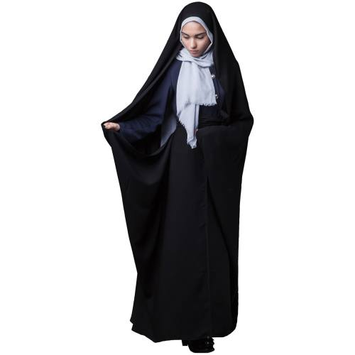 چادرکمری حسنا کریستال حجاب فاطمی مدل 201071kr
