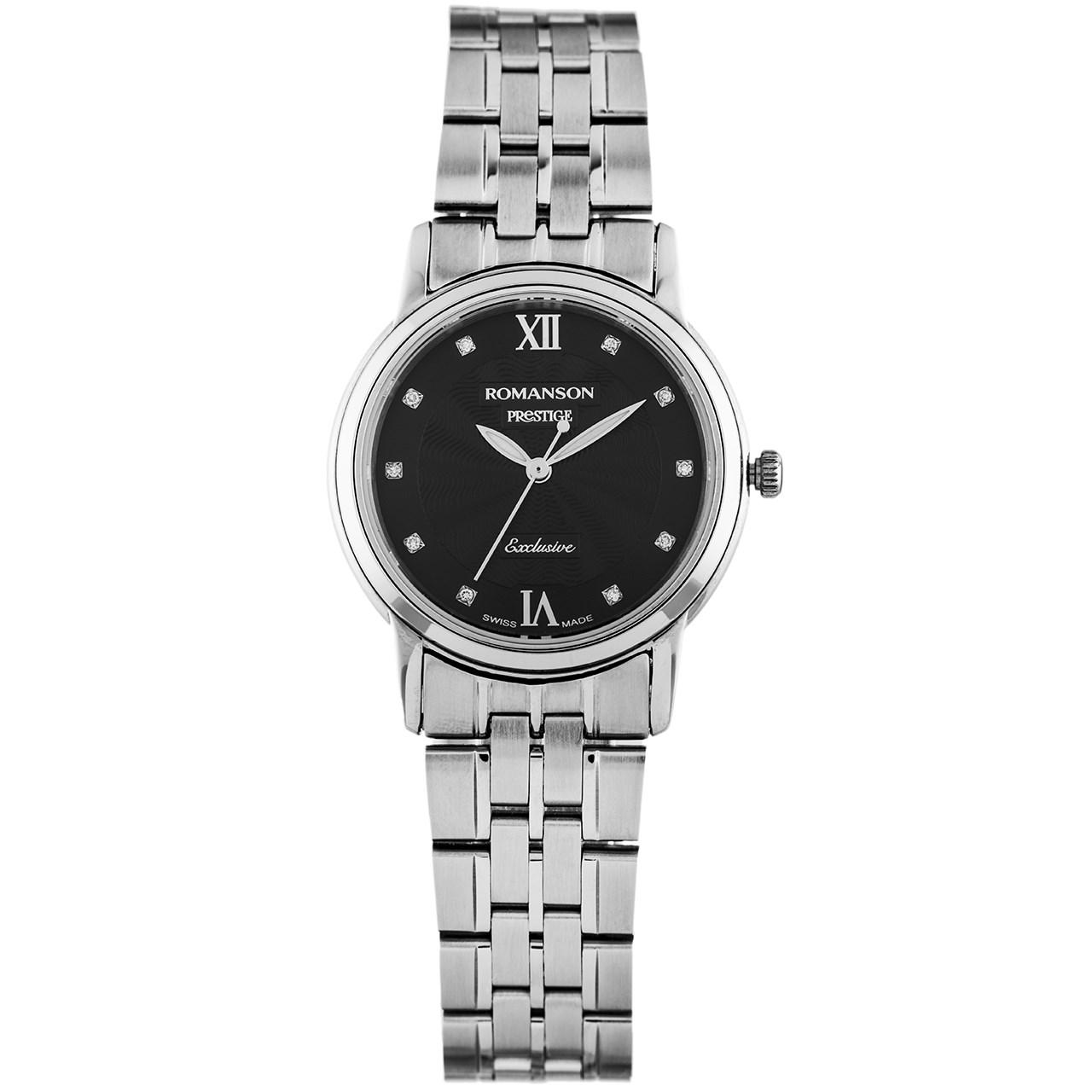 ساعت مچی عقربه ای زنانه رومانسون مدل TM3257LL1WA32W
