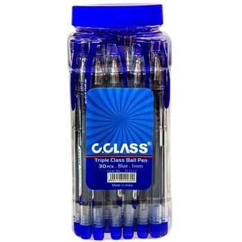 خودکار سی کلس مدل Triple Class Ball Pen بسته 30 عددی