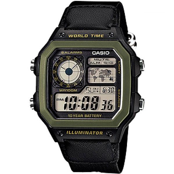 خرید ساعت مچی دیجیتال کاسیو AE-1200WHB-1BVDF
