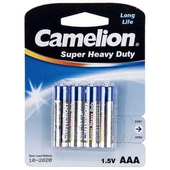 باتری نیم قلمی کملیون مدل Super Heavy Duty بسته 4 عددی