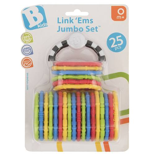 مجموعه گیره اسباب بازی بلوباکس مدل Ems Jumbo