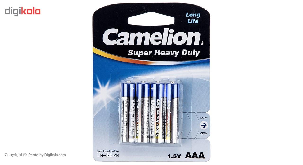 باتری نیم قلمی کملیون مدل Super Heavy Duty بسته 4 عددی main 1 1