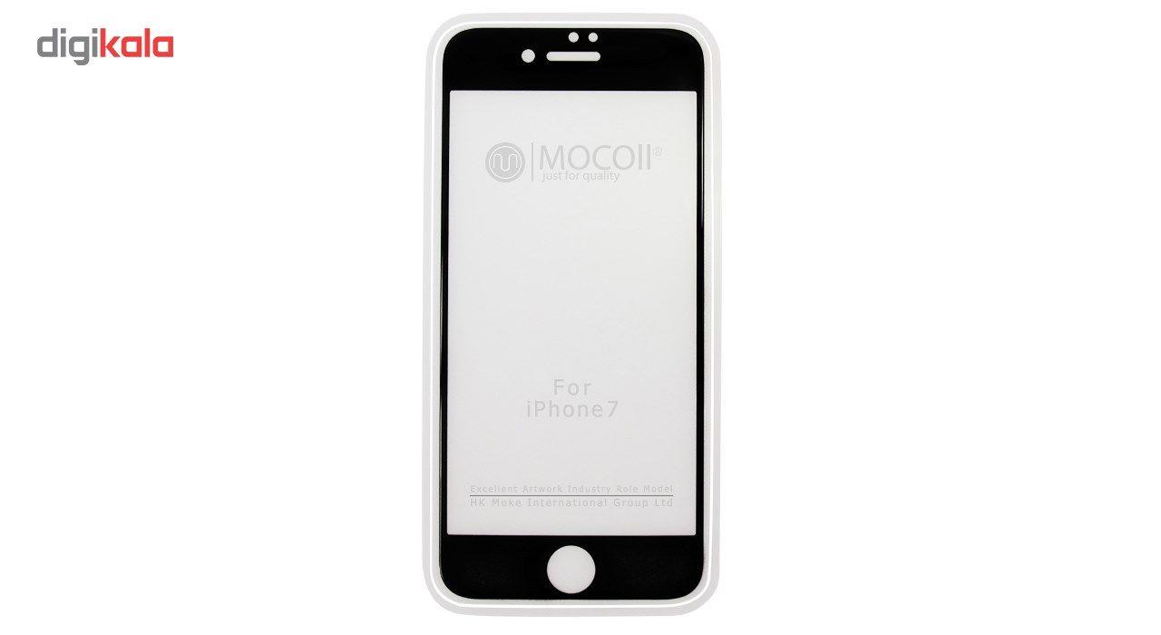محافظ صفحه نمایش موکول مدل Full Cover Tempered Glass مناسب برای گوشی موبایل آیفون 7/8 main 1 1