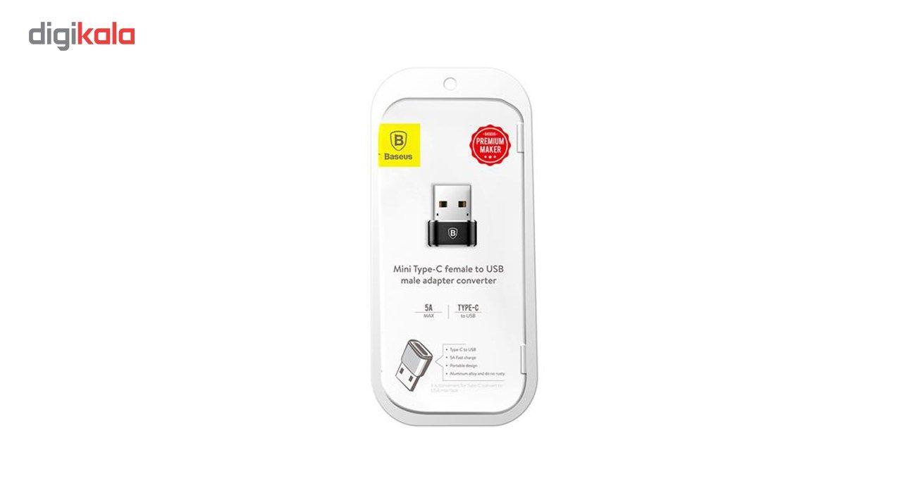 مبدل Type-C به USB باسئوس مدل CAAOTG-01 main 1 2
