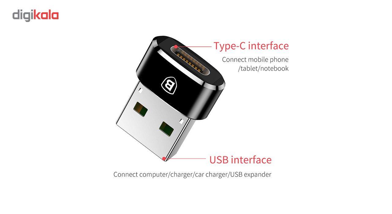 مبدل Type-C به USB باسئوس مدل CAAOTG-01 main 1 3