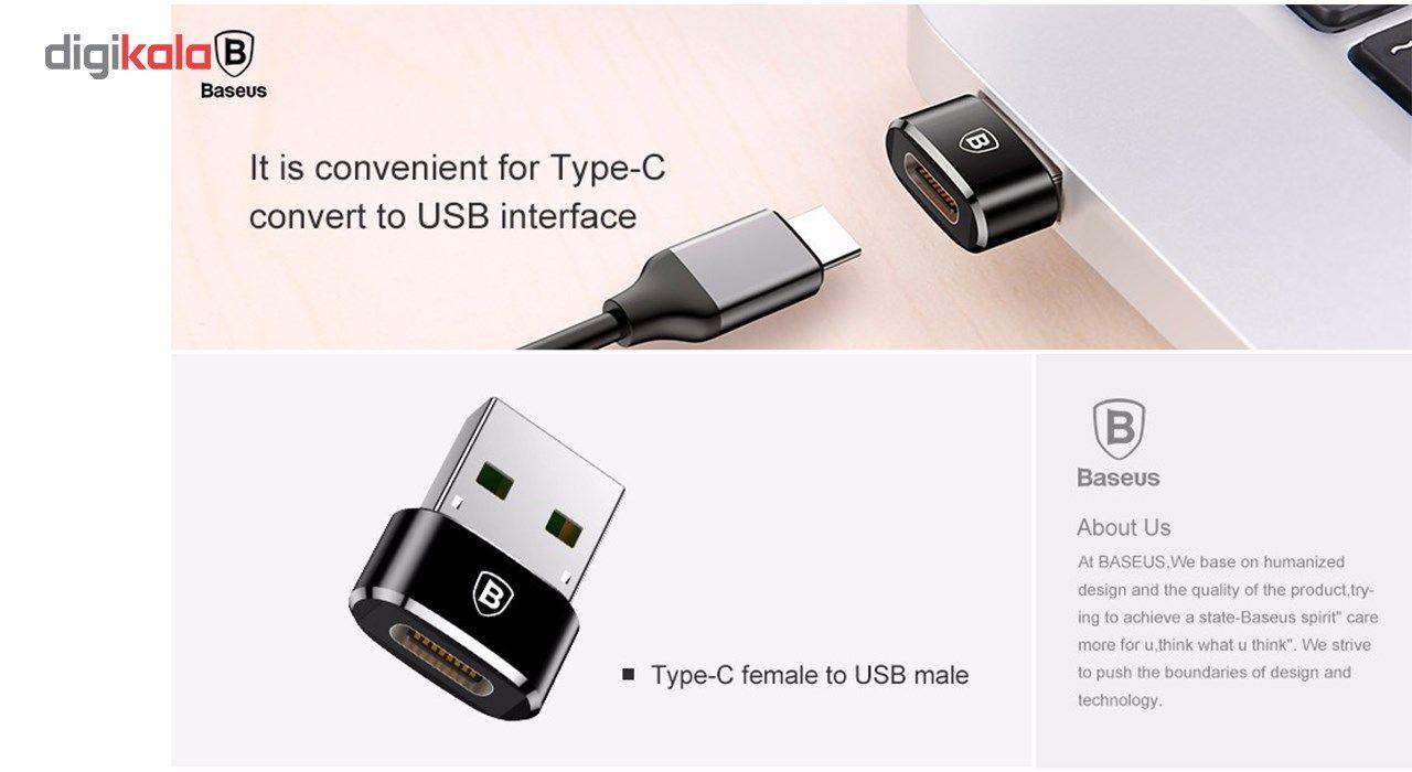 مبدل Type-C به USB باسئوس مدل CAAOTG-01 main 1 4