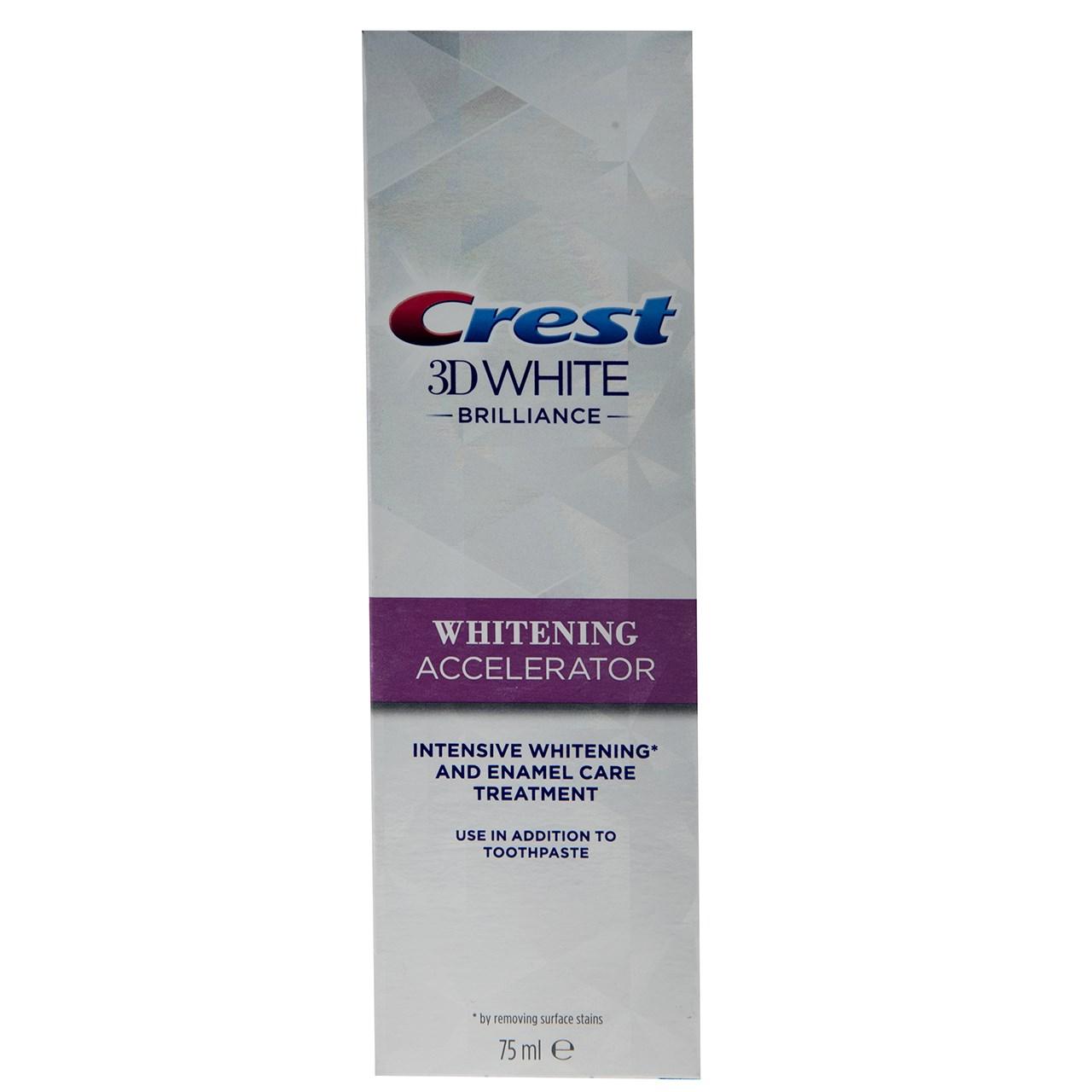قیمت مکمل تثبیت کننده سفیدی دندان کرست سری 3D White Brilliance حجم 75 میلی لیتر
