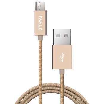 کابل تبدیل USB به microUSB آی واک مدل CSS002M طول 2 متر