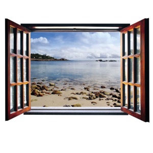 پنجره مجازی سه بعدی سالسو طرح رو به ساحل