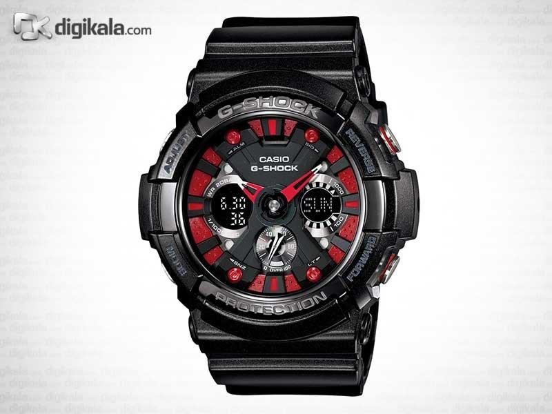 خرید ساعت مچی عقربه ای مردانه کاسیو GA-200SH-1A | ساعت مچی
