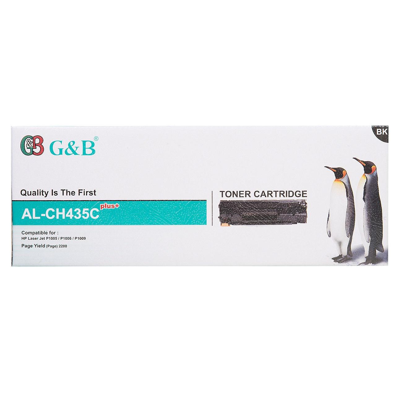 قیمت                      تونر مشکی جی اند بی مدل AL-CH435C plus