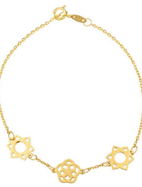 دستبند طلا 18 عیار ماهک مدل MB0243 - مایا ماهک -  - 2