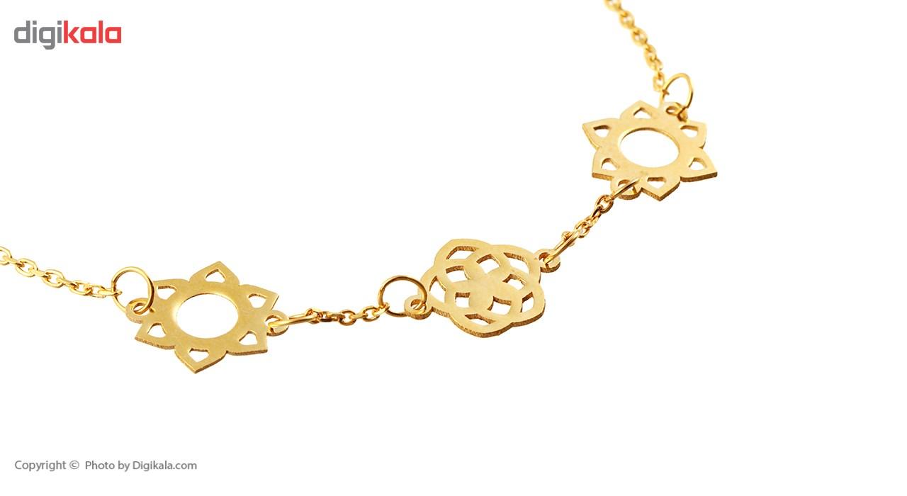 دستبند طلا 18 عیار ماهک مدل MB0243 - مایا ماهک -  - 3