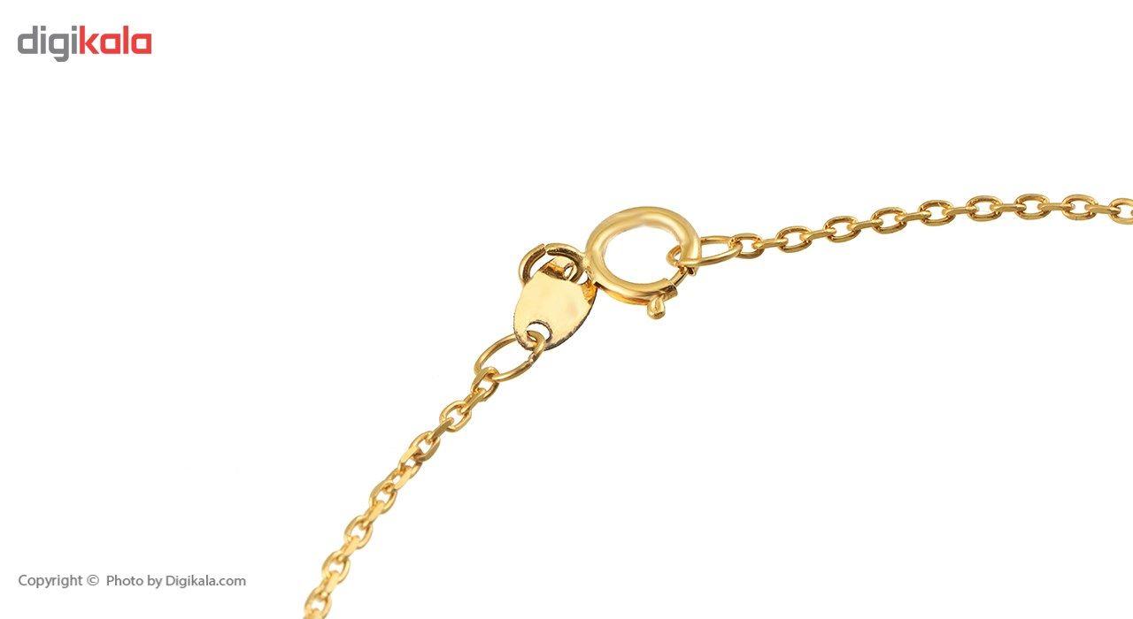 دستبند طلا 18 عیار ماهک مدل MB0243 - مایا ماهک -  - 1