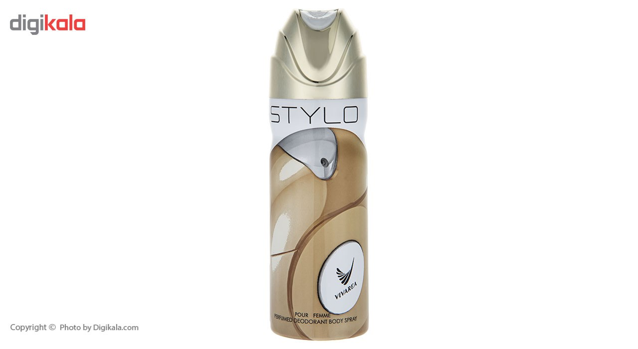 خرید اینترنتی اسپری زنانه امپر ویواریا مدل Stylo حجم 200 میلی لیتر اورجینال
