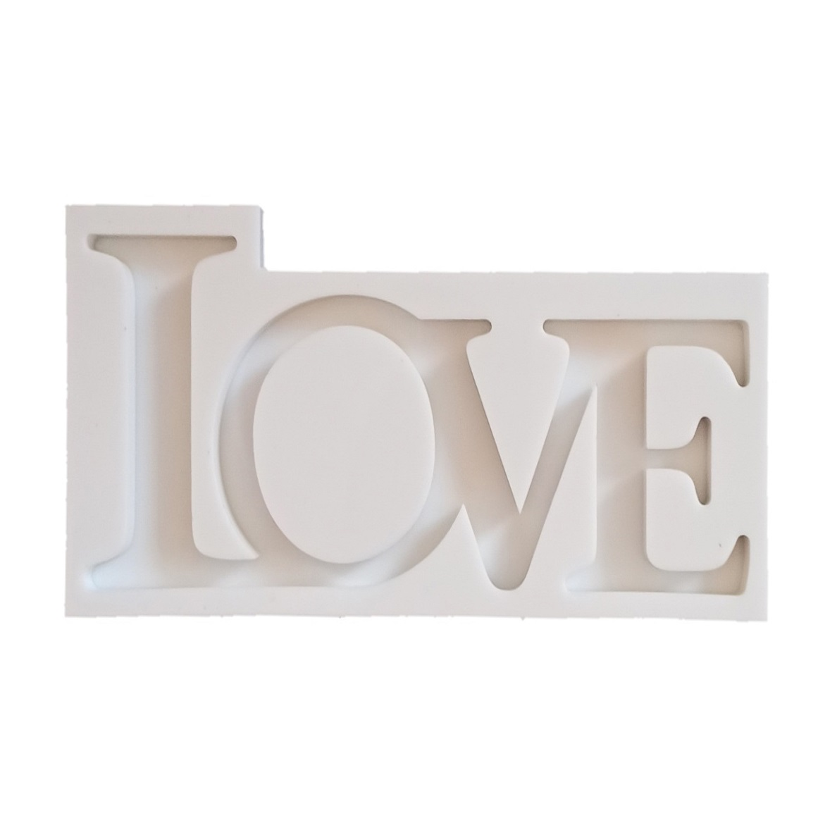 قالب رزین مدل LOVE