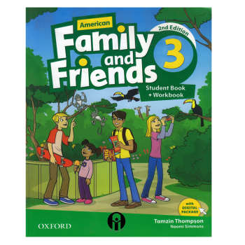 کتاب Family and Friends 3 اثر  Tamzin Thompson and Naomi Simmons انتشارات الوندپویان