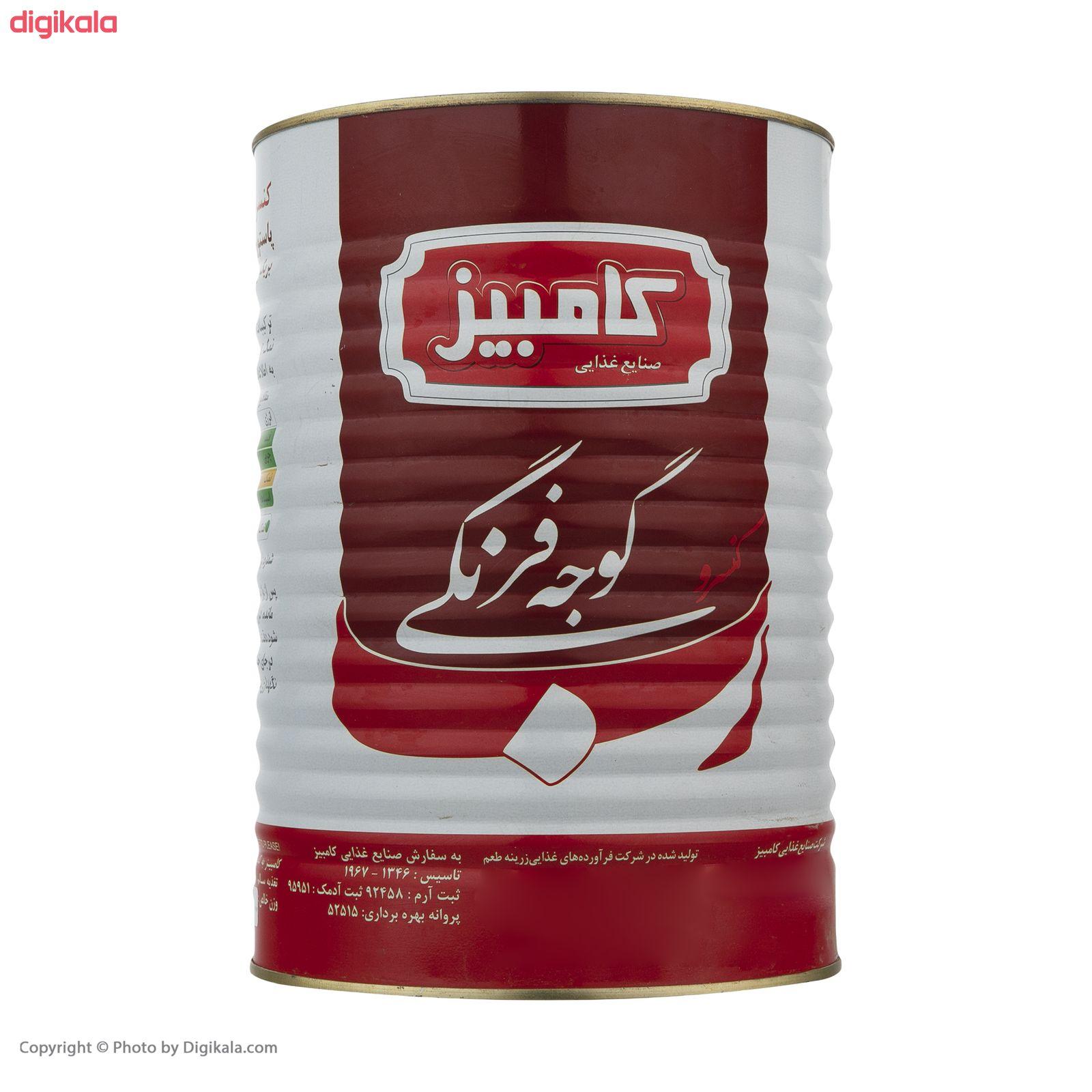 کنسرو رب گوجه فرنگی کامبیز - 4 کیلوگرم main 1 1