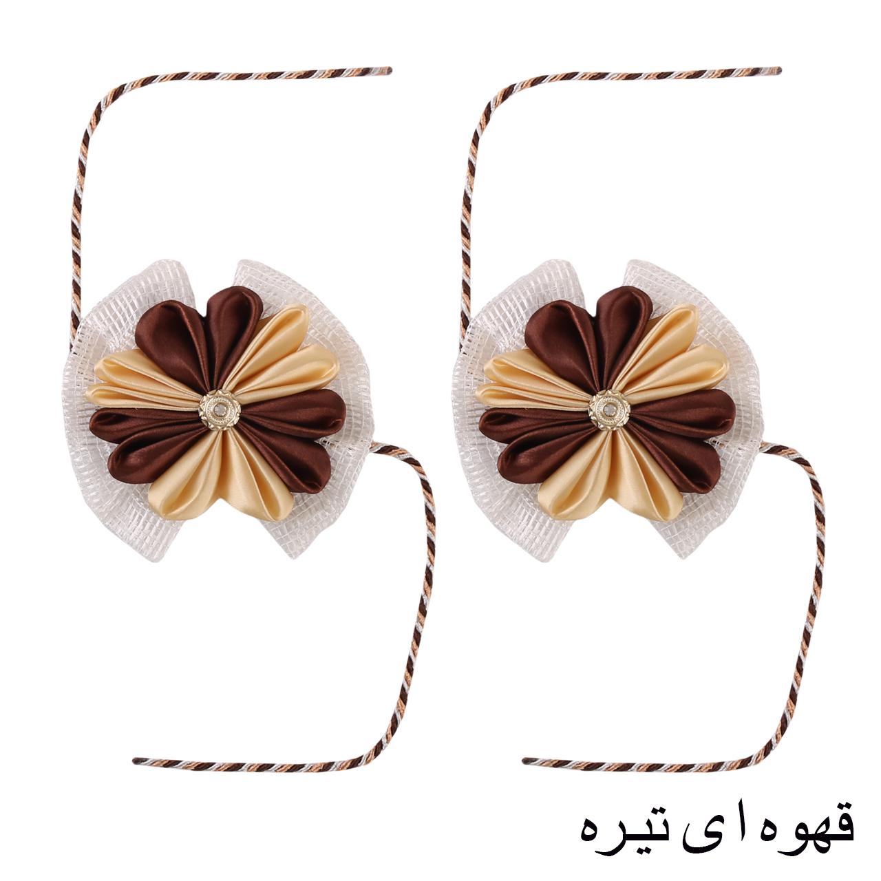 پرده جمع کن طرح گل بسته 2 عددی main 1 1