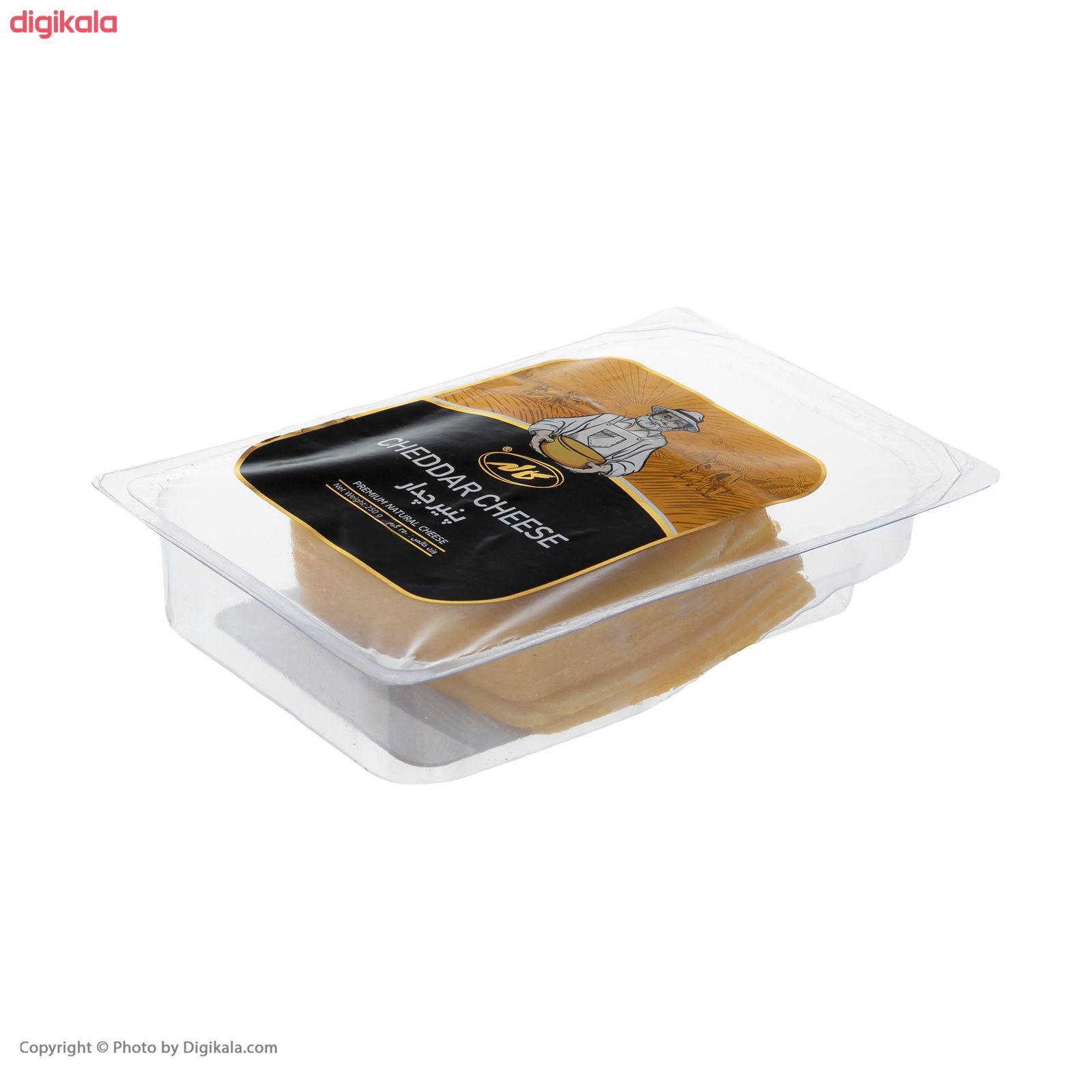 پنیر چدار ورقه ای کاله مقدار 250 گرم main 1 1