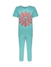 ست تی شرت و شلوارک راحتی زنانه مادر مدل 2041101-54 -  - 1