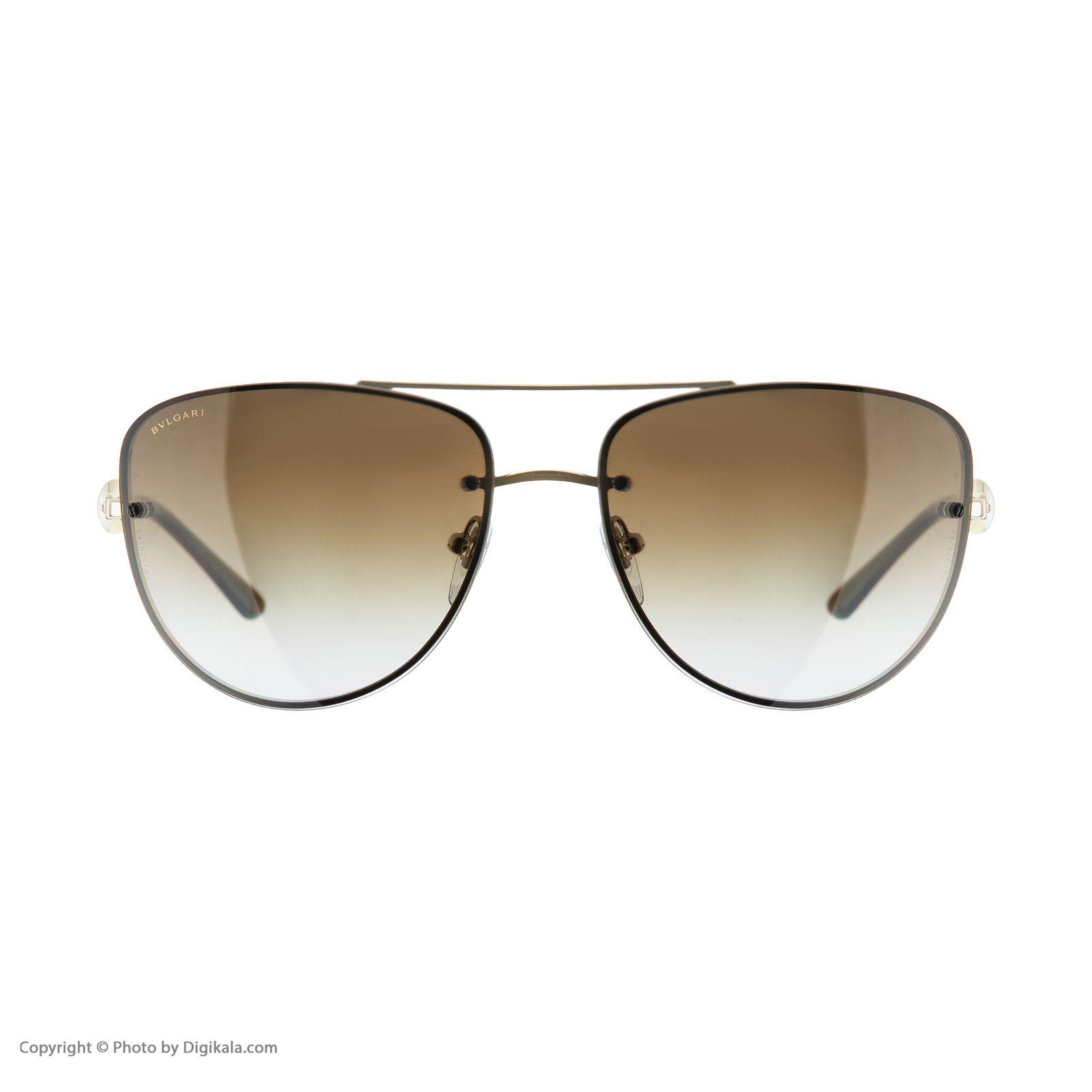 عینک آفتابی مردانه بولگاری مدل BV6086B 0278T5 -  - 3