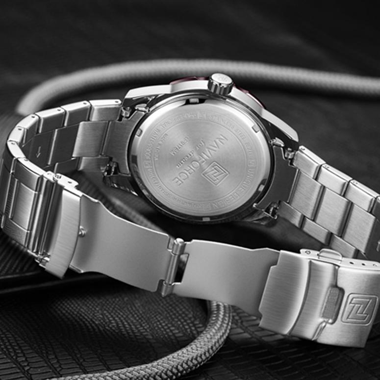 ساعت مچی عقربهای مردانه نیوی فورس مدل  NF9178M - NO-SB              اصل