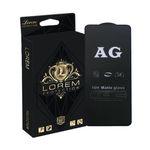 محافظ صفحه نمایش مات لورم مدل AGMATT001 مناسب برای گوشی موبایل سامسونگ Galaxy A90