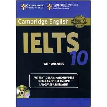 کتاب Cambridge English IELTS 10 اثر جمعی از نویسندگان انتشارات زبان مهر