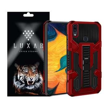 کاور لوکسار مدل kikstand-100 مناسب برای گوشی موبایل سامسونگ Galaxy A10s