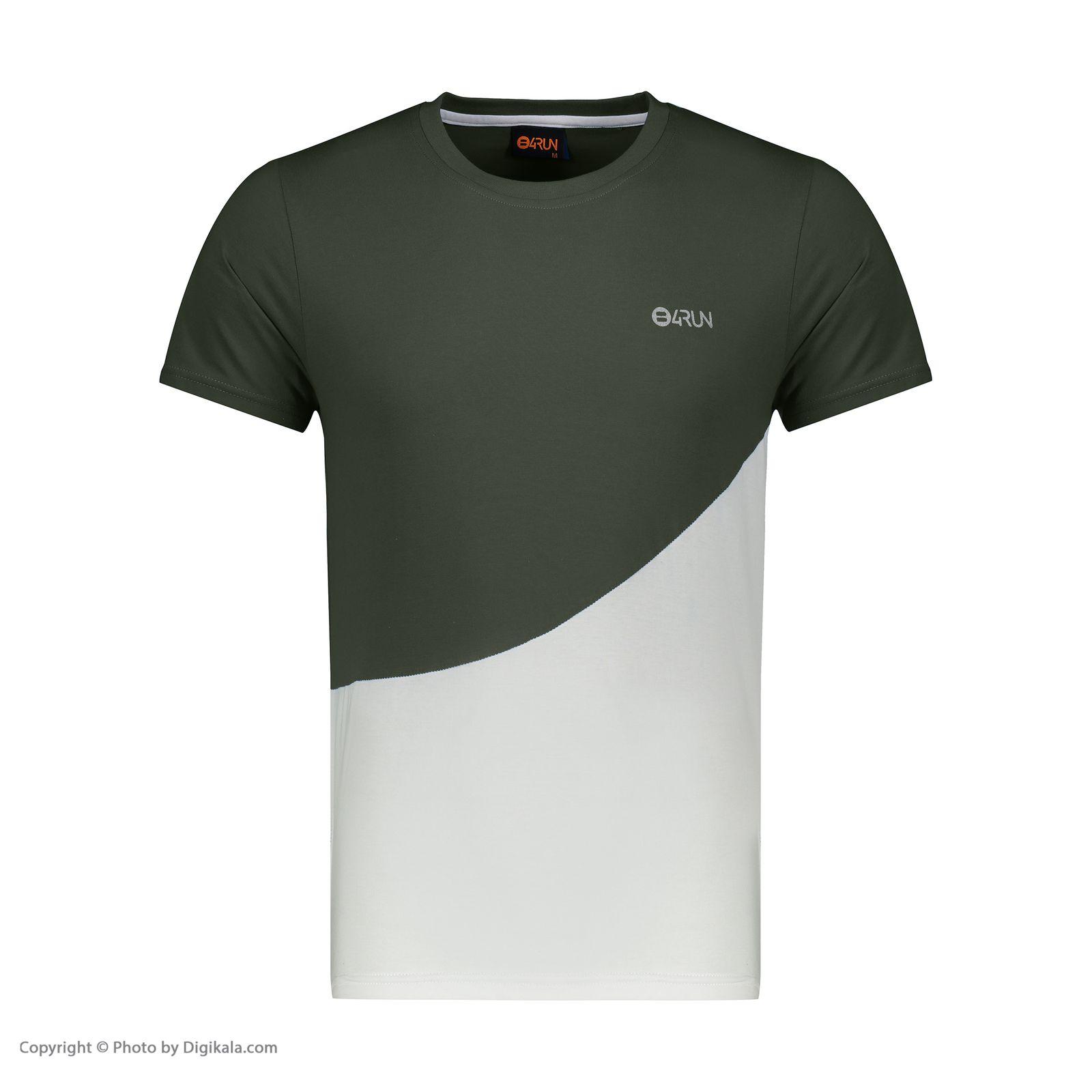 تی شرت ورزشی مردانه بی فور ران مدل 210314-4301 -  - 5