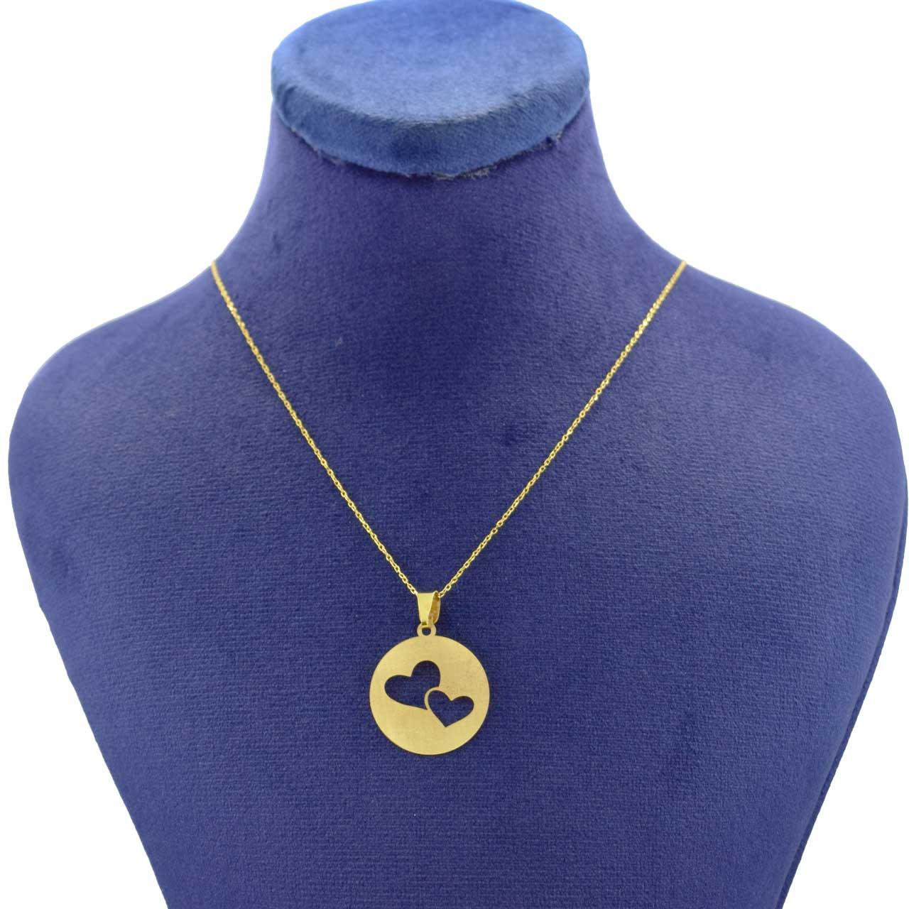 گردنبند طلا 18 عیار زنانه کانیار گالری مدل NE100