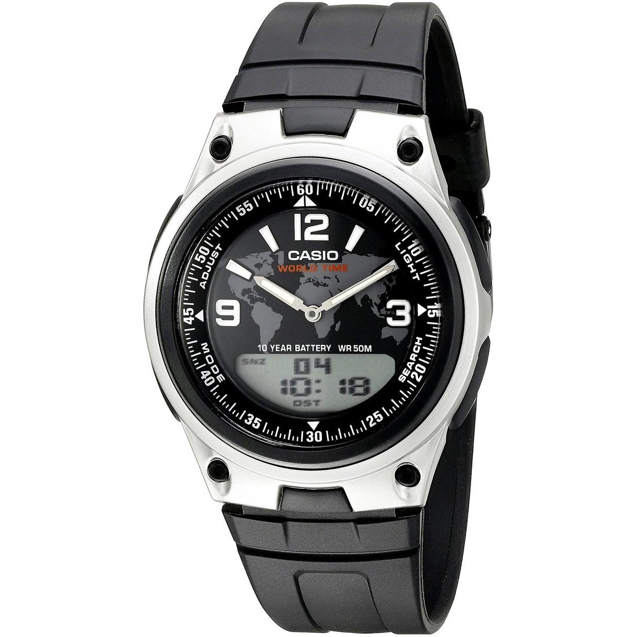 خرید ساعت مچی عقربه ای مردانه کاسیو مدل AW-80-1A2VDF