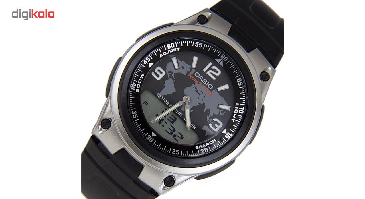 ساعت مچی عقربه ای مردانه کاسیو مدل AW-80-1A2VDF