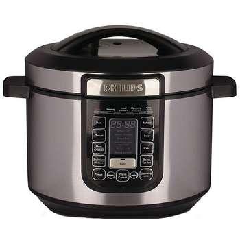 تصویر زودپز برقی فیلیپس مدل HD2137 Philips HD2137 Electric Pressure Cooker