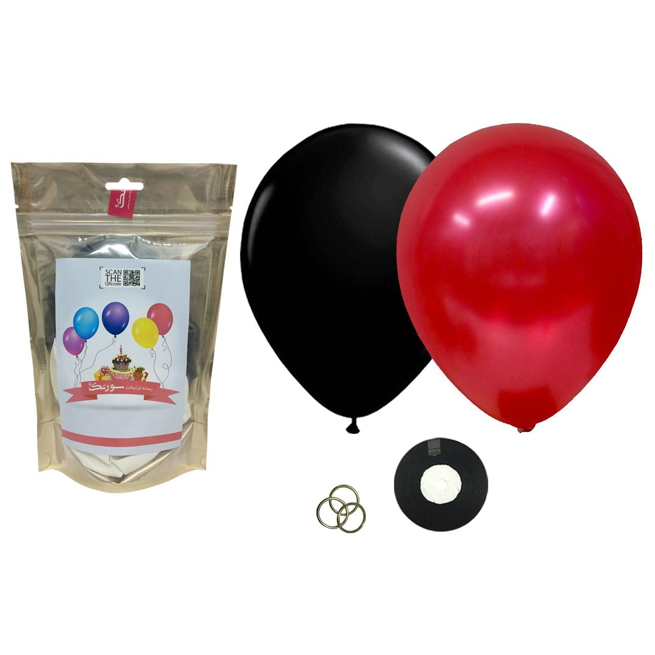 پک بادکنک آرایی Helium Quality سورتک مدل STLH-02