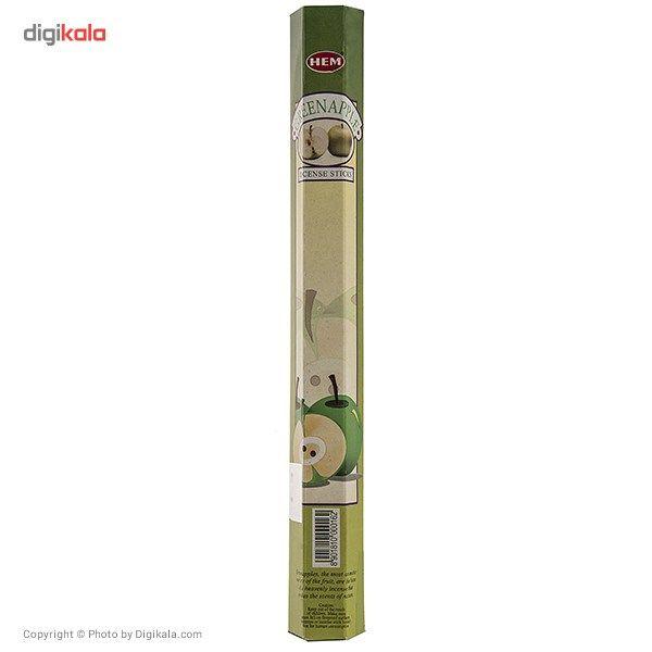 عود خوشبو کننده هم مدل Green Apple main 1 1
