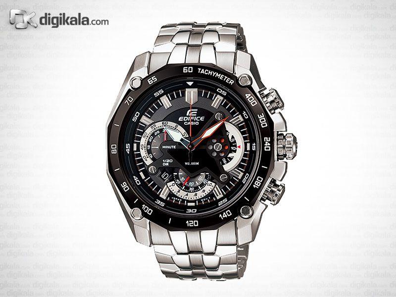 خرید ساعت مچی عقربه ای مردانه کاسیو ادیفایس EF-550D-1AVDF